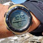 Uhr auf 3055 Meter